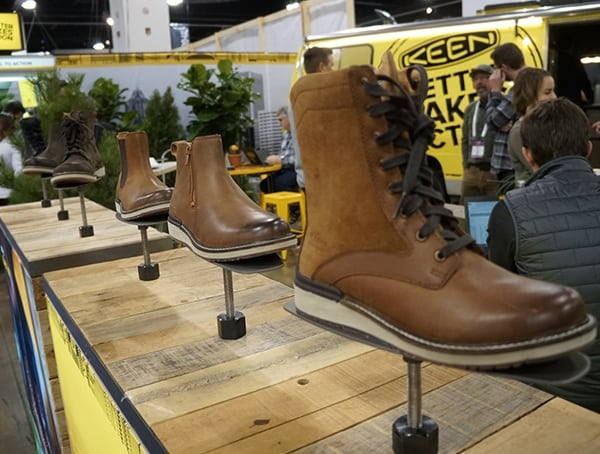 Keen Mens Leather Boots Display