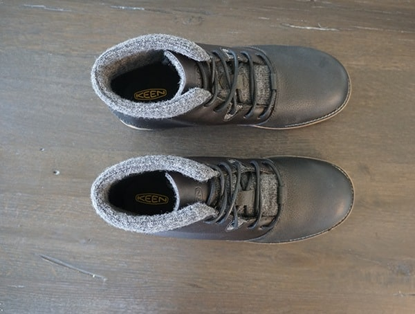Keen Slater Boots Top View Review