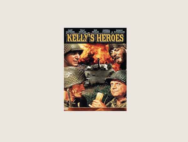 Kellys Heroes Mens Best War Movies