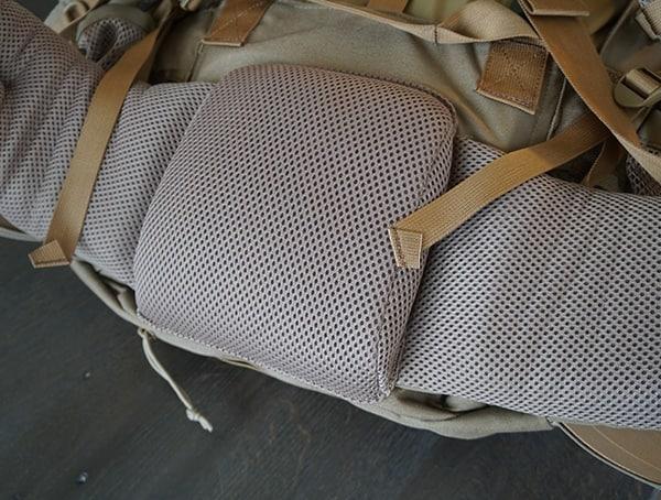 Kelty Eagle Backpacks Mesh Waist Lower Padding Area