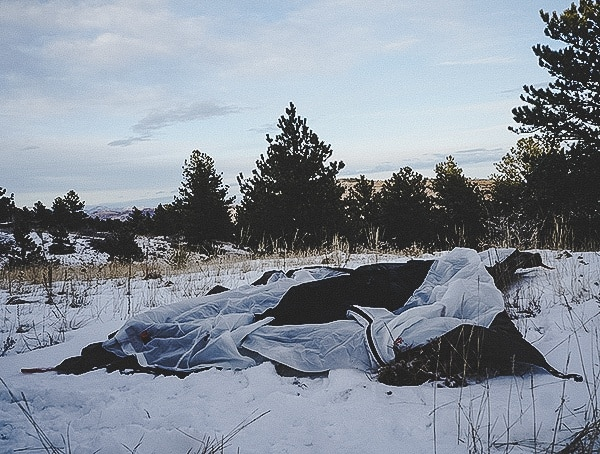 Kelty Outfitter Pro 3 Tent Setup Review Spreading Out The Floor