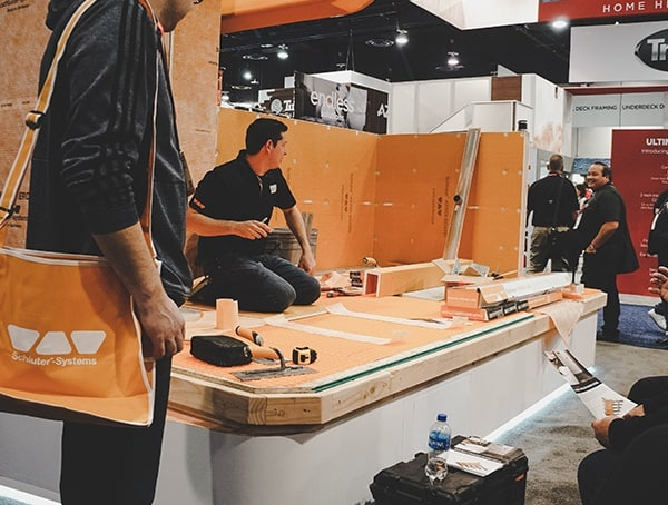 Kerdi Booth 2019 Nahb Show Las Vegas Kerdi Board And Membrane Installation