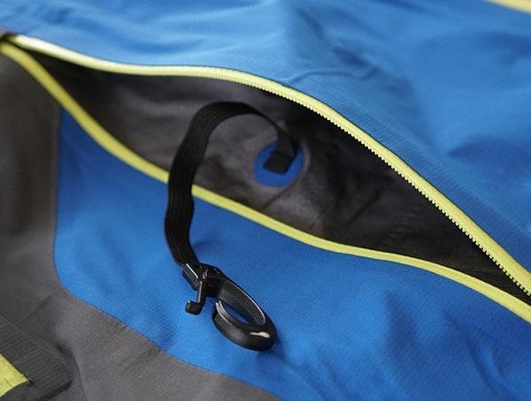 Key Clip Spyder Eiger Gtx Shell Jacket For Men Interior Pocket