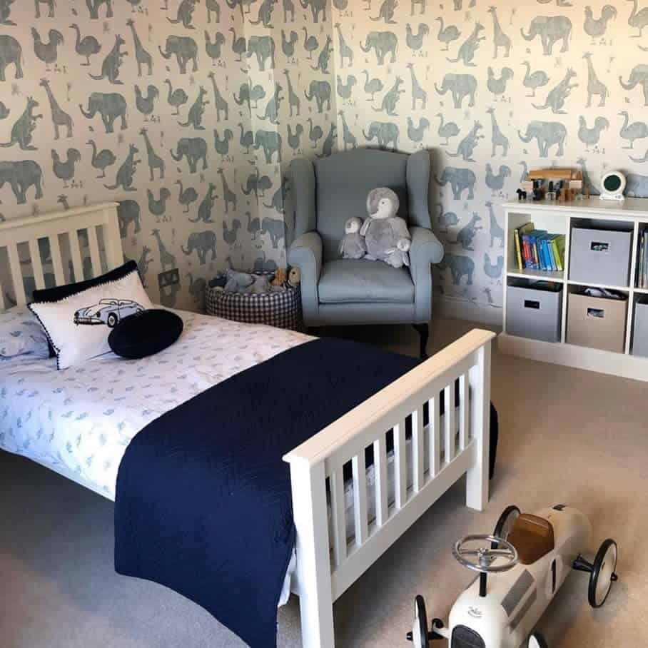 kids bedroom wallpaper ideas lime_lace