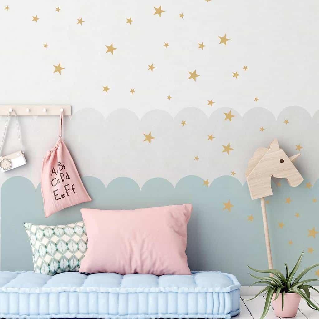 kids bedroom wallpaper ideas theditzybirdstudio