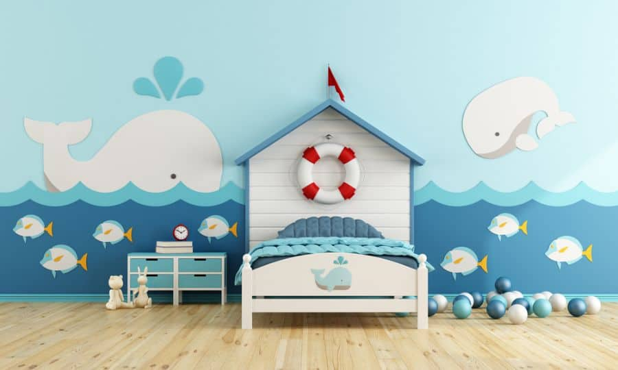 kids room bedroom decor ideas 3