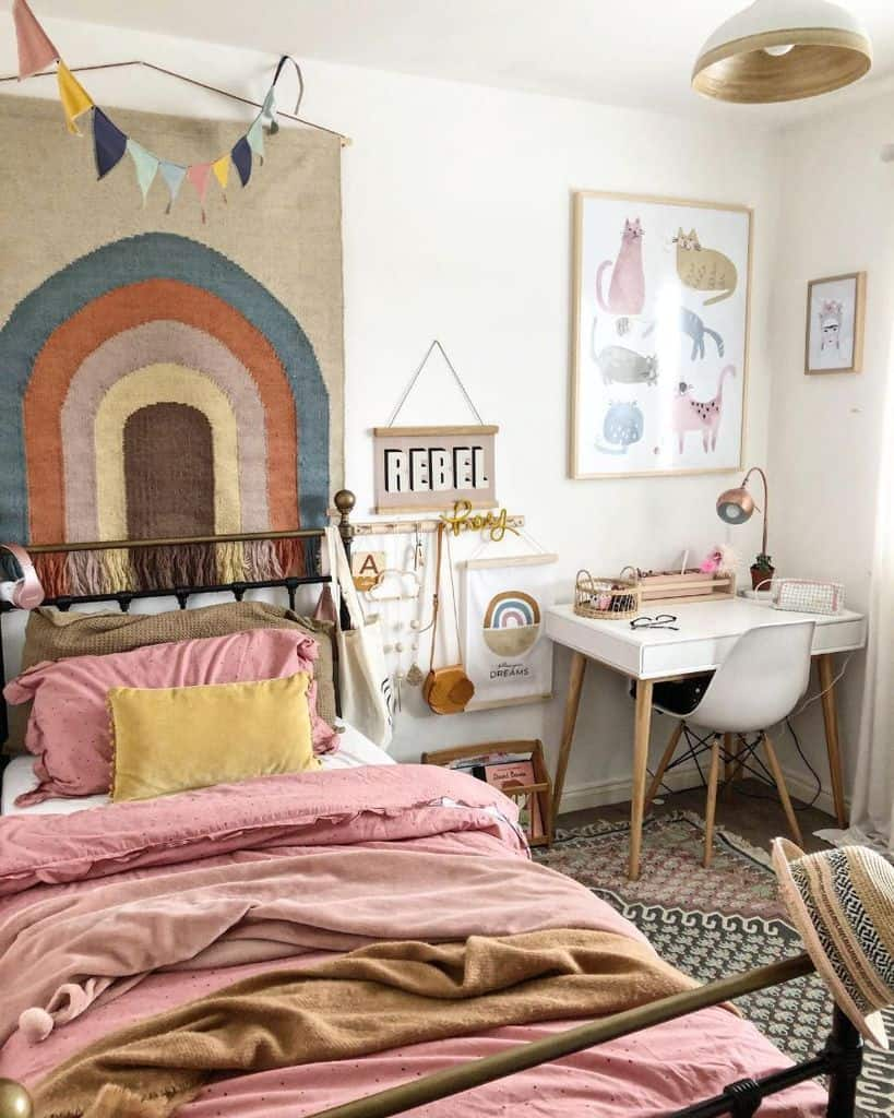 kids room boho bedroom ideas its_all_about_the_house