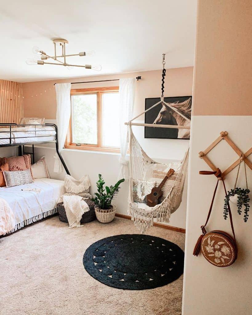 kids room boho bedroom ideas thesistersdwelling