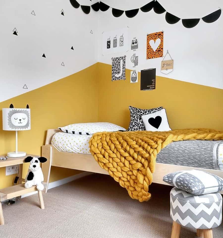 kids yellow bedroom ideas little_york_house
