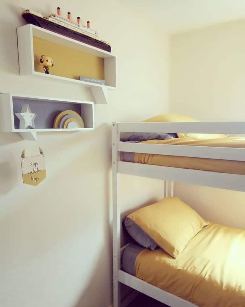 kids yellow bedroom ideas thehomethatbethmade