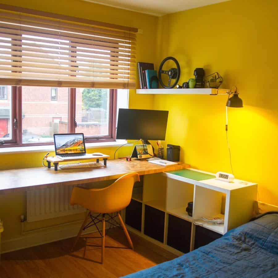 kids yellow bedroom ideas vladas_zinkus