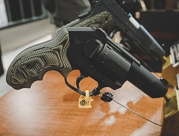 Kimber Black Revolver With G10 Grips