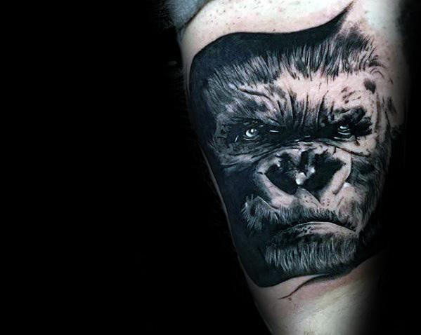 King Kong Mens Tattoo Ideas