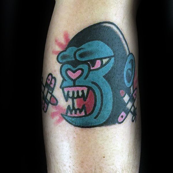 King Kong Tattoos Men
