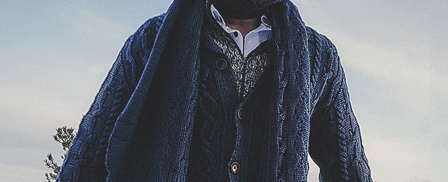 Kinross Cashmere Review – Fall Collection Men's Cardigans and Scarves