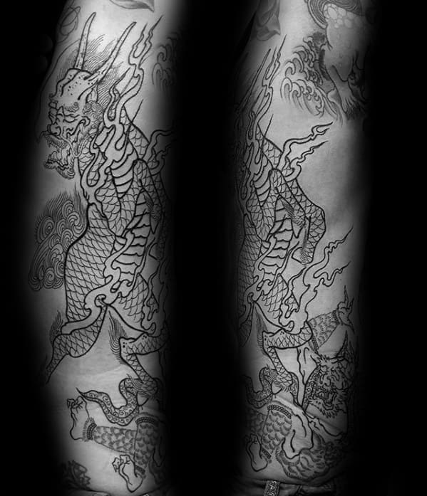 Kirin Tattoo Designs For Guys
