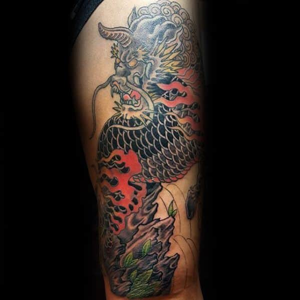 Kirin Tattoos Men