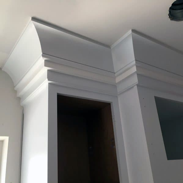 Kitchen Cabinet Crown Molding Cool Interior Ideas