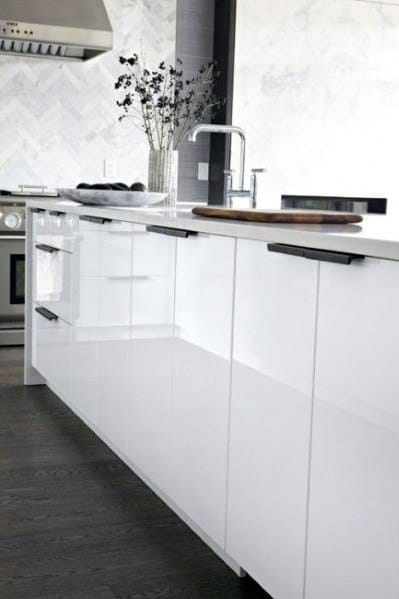 Top 70 Best Kitchen Cabinet Hardware Ideas Knob And Pull Designs