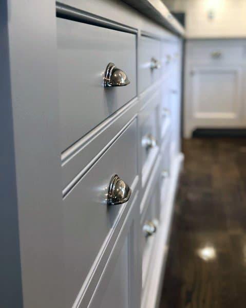 Kitchen Cabinet Hardware Design Inspiration