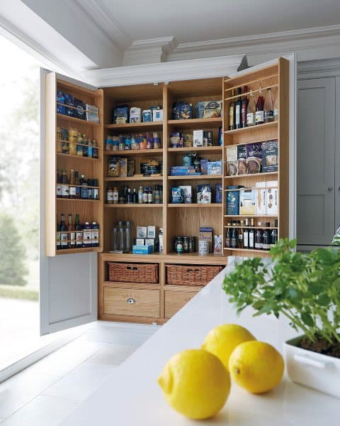 Kitchen Cabinet Pantry Ideas