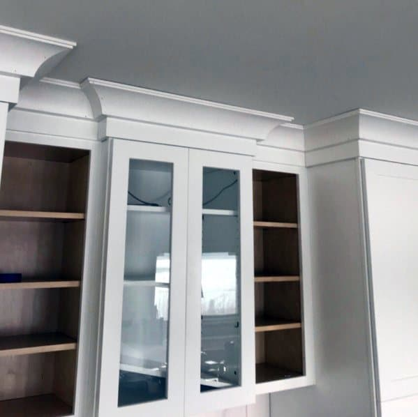 Kitchen Cabinet Top Crown Molding Design Inspiration
