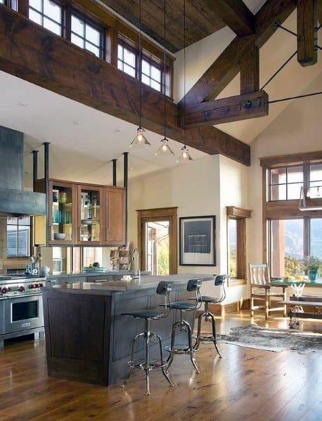 Kitchen Ceiling Design Inspiration