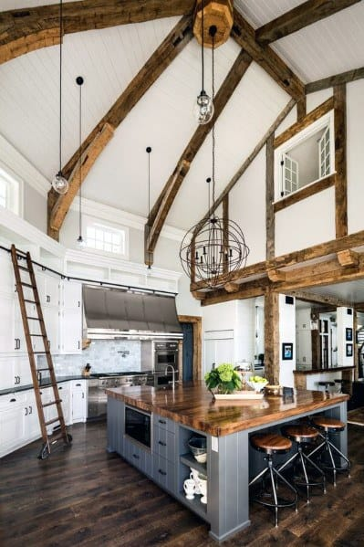 Kitchen Ceiling Interior Design