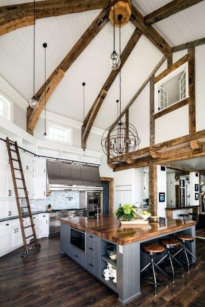 Kitchen Ceiling Interior Design