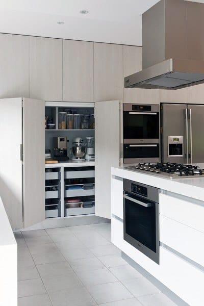 Kitchen Closet Pantry Ideas