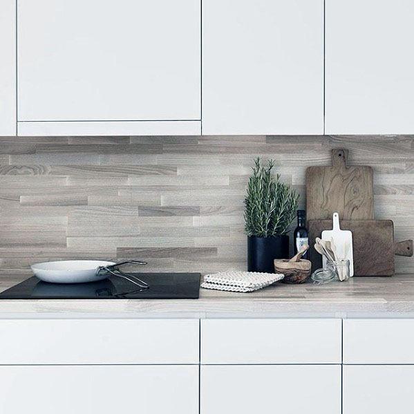 Kitchen Design Ideas For Wood Backsplash