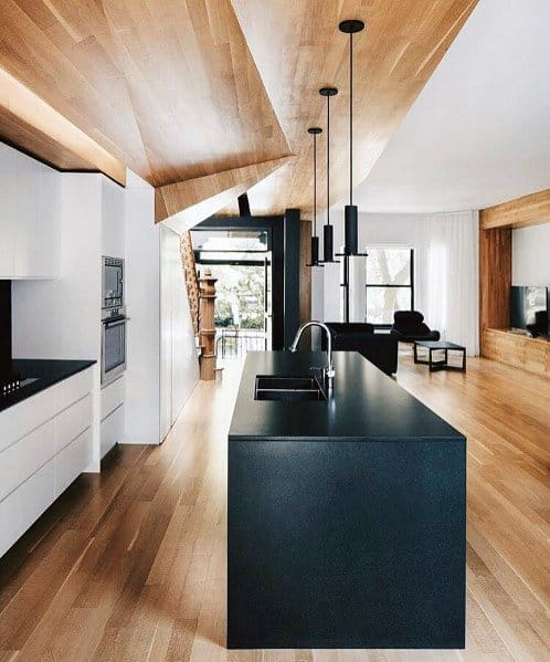 modern kitchen ceiling designs top 60 best wood ceiling ideas wooden interior designs 7668