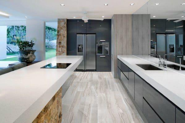 Kitchen Flooring Design Ideas