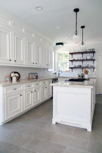 Kitchen Flooring Design Inspiration