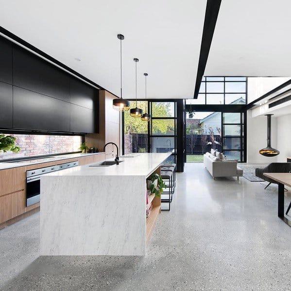 Kitchen Flooring Ideas Concrete