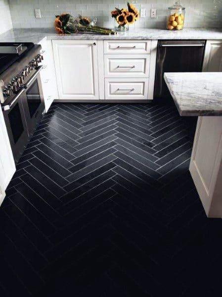 Kitchen Flooring Interior Design