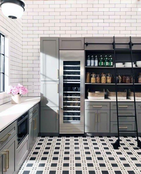 Kitchen Flooring Interior Ideas