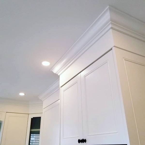 Kitchen Interior Ideas For Crown Molding
