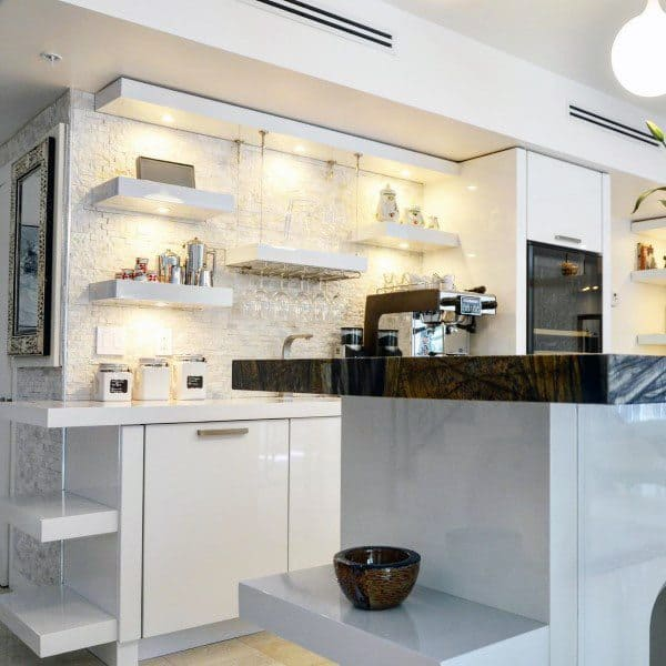 Kitchen Interiors Coffee Bar Ideas