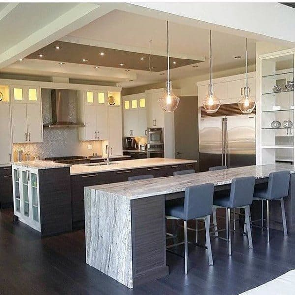 Kitchen Island Bar Ideas