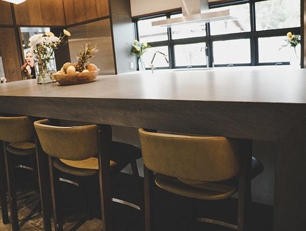 Kitchen Island Bar Seating 2019 New American Remodel