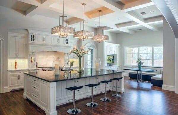 Kitchen Island Light Fixtures Ideas