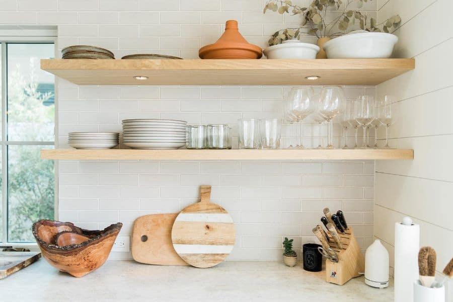 kitchen organizer shelf kitchen wall decor ideas tru.studio_