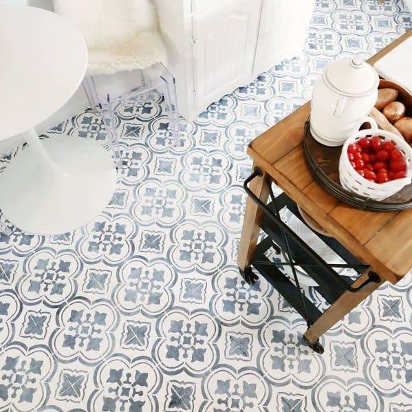 Kitchen Painted Floor Home Designs