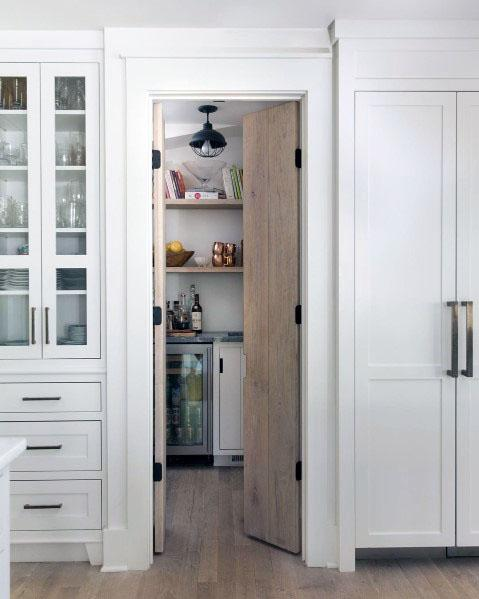 Kitchen Pantry Door Design Idea Inspiration