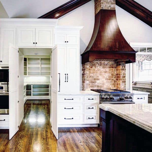 Kitchen Pantry Interior Ideas Hidden Door