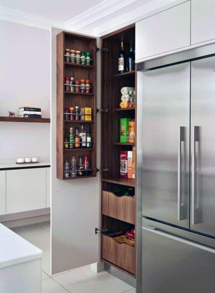Enjoyable Top 70 Best Kitchen Pantry Ideas Organized Storage Designs Home Interior And Landscaping Eliaenasavecom