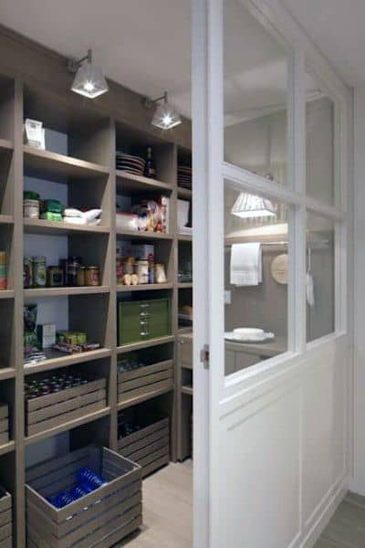 Kitchen Pantry Shelving Ideas