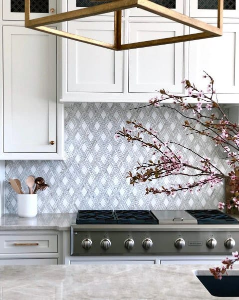 Kitchen Pattern Ideas For Stone Backsplash