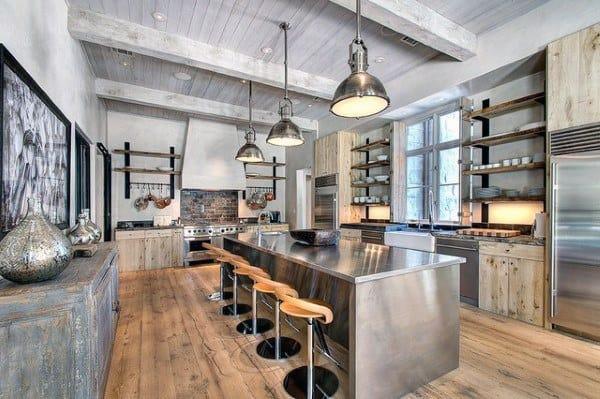 Kitchen Retro Industrial Interior Designs